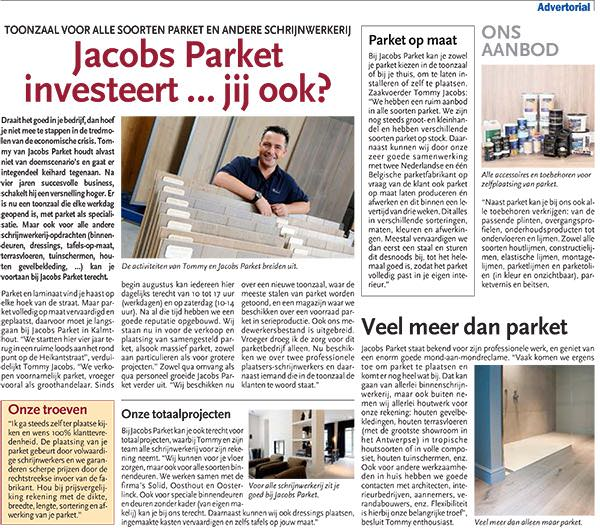 Advertorial Jacobs